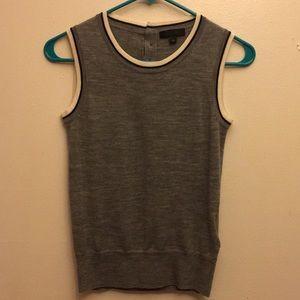 J Crew Sleeveless 100% Merino Wool Sweater Vest